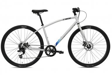 Vélo Hybride FabricBike Commuter 28, SRAM 8V, Freins à Disque Tektro, Gris