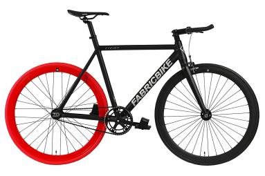 Image of Velo fixie fabricbike 28 light noir et rouge m 166 183 cm
