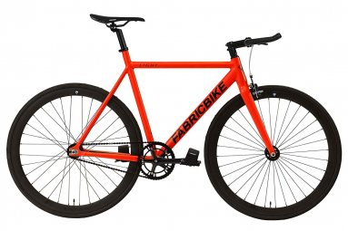 Vélo Fixie FabricBike Light 28 Rouge Mat