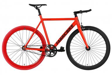 Vélo Fixie FabricBike Light 28 Rouge et Noir