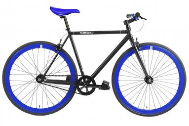 Vélo Fixie FabricBike Original 28 , Fixed Gear, Hi-Ten Acier, Noir et Bleu
