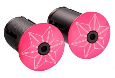 Supacaz Star Plugz Powder coated Rose hanger