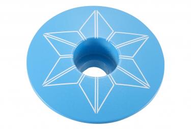 Capot de Direction Supacaz Capz Powder Coated Neon Bleu