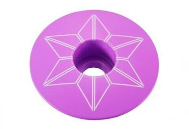 Supacaz Capz capucha de neón púrpura con recubrimiento de polvo