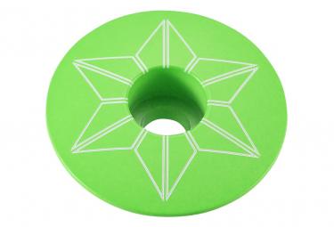 Supacaz Capz polvo recubierto de neón verde