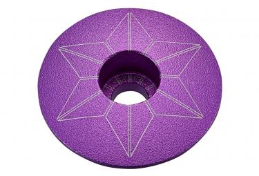 Image of Capot de direction supacaz capz anodise neon violet