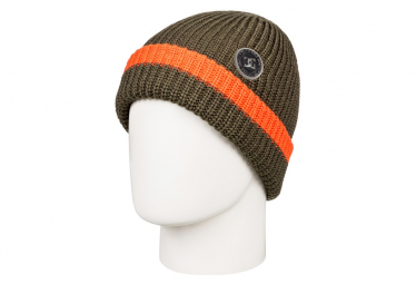 DC Backside Olive Night / Khaki / Orange Beanie