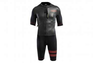 Combinaison de Triathlon Femme COLTING SWIMRUN GO Noir Rouge
