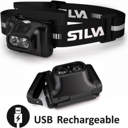 Lampe frontale Silva Scout RC