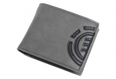 Portefeuille Element Daily Wallet Stone Grey