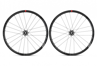Pair of Fulcrum Racing 3 Disc Wheels | 12x100 - 12x142mm | Black 2019