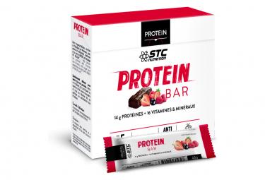 Barres Protéinées STC Nutrition Protein Bar 5 x 45g red fruits