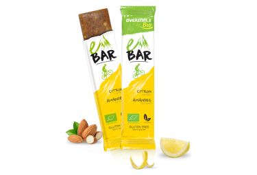 Barre Energétique Overstims E-Bar BIO Citron Amande 32g
