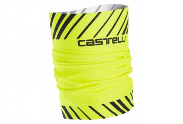Castelli Arrivo 3 Thermo Head Thingy Neon Amarillo Negro