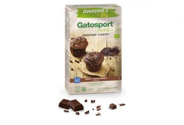 Gâteau Energétique Overstims Gatosport BIO Muffins Chocolat 400g