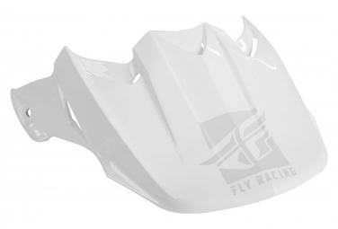 Visera de repuesto para casco Fly Racing F2 blanco / brillante