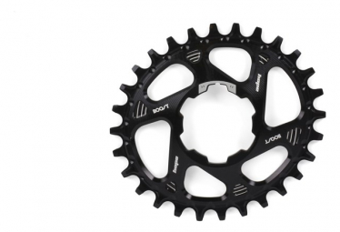 Hope Spiderless Chainring Oval Boost - Black