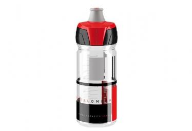 Bidon Elite Crystal Ombra / 550 ml / Transparent / Rouge