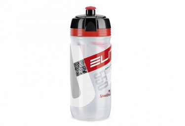 Elite Bottle Corsa Clear Red 550ml