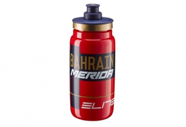 Elite Bottle Fly Team Bahrain-Merida 550mL Red