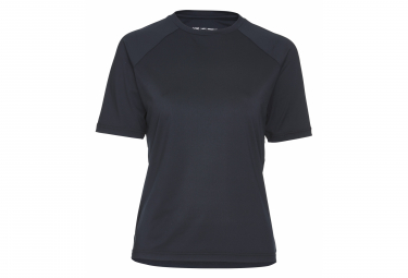 Poc Essential MTB Women Short Sleeves Jersey Uranium Black
