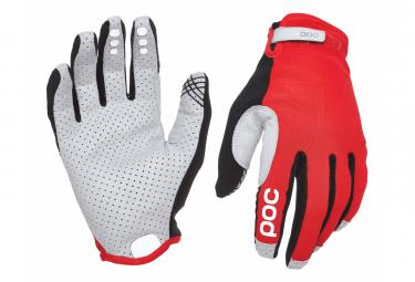 Poc Resistance Enduro Adjustable Long Gloves Prismane Red