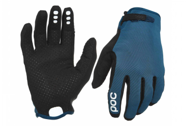 Paire de Gants Longs Poc Resistance Enduro Adjustable Bleu Draconis