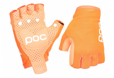 Paire de Gants Courts Poc Avip Road Orange Zink