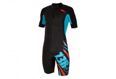 Combinaison Z3ROD Swimrun Start Noir Bleu