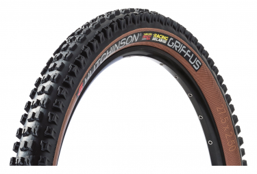 Hutchinson Griffus Racing Lab 2.50 MTB Tire 27.5 Tubeless Ready Folding Hardskin Race Ripost Gravity Tan Sidewalls eBike