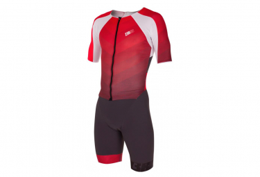 ZEROD TTSUIT Racer Grey Red