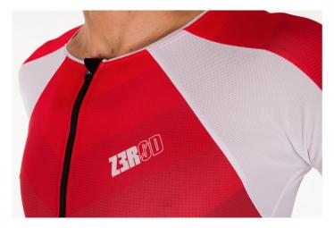 ZEROD TTSUIT Racer Grey Red