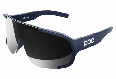 Poc Aspire Clarity EF Edition Glasses Lead Blue / Violet Silver Mirror