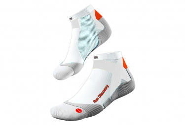 Paire de chausettes X-Socks RUN DISCOVERY blanc