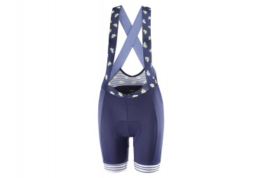 Katusha Allure Women Bib Shorts Peacoat Blue Pattern Mix