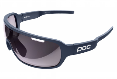 Poc DO Blade Clarity EF Edition Glasses Lead Blue / Violet Light Silver Mirror