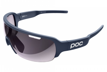 Poc DO Half Blade Clarity EF Edition Glasses Lead Blue / Violet Light Silver Mirror