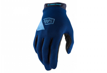 100% Ridecamp Glove Navy