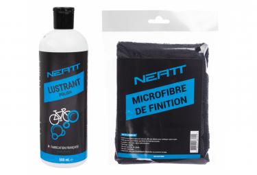 Serviette Microfibre + Lustrant Neatt Bike Polish 500ml