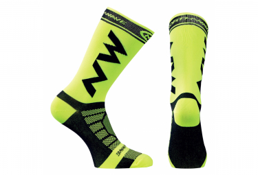 Northwave Socks Extreme Light Black / Neon Yellow