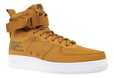 nouveau produit 1f0be 6bce6 Nike Air Force 1 SF Mid 917753-700 Brun
