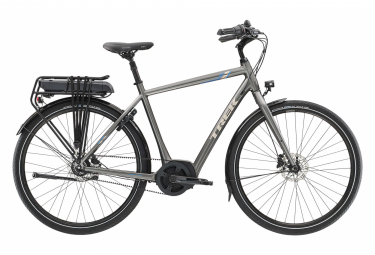 Trek UM4+ 500 Wh Hybrid City Bike Shimano Nexus 7S Belt Anthracite 2019