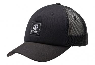 Casquette Element Icon Mesh Cap All Black