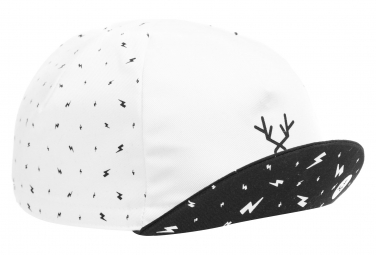 LeBram Cotton Cap White / Black