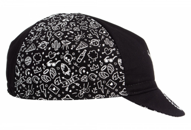 LeBram Cotton Oz Black Cap