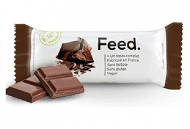 Image of X12 barres repas complet feed chocolat 100g
