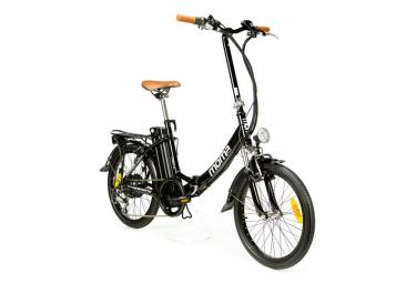 Moma Bikes Vélo Electrique VAE Pliant De ville, E-20.2 , Aluminium, SHIMANO 7V, Bat. Ion Lithium 36V 16Ah.