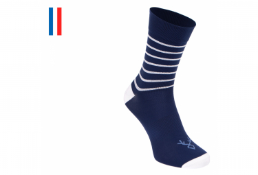 LeBram Ventoux Socks Blue White