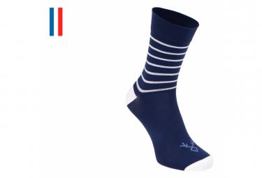 Paire de Chaussettes LeBram Ventoux Marine/Blanc