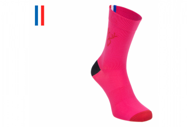 Pair of LeBram Aravis Fushia Socks